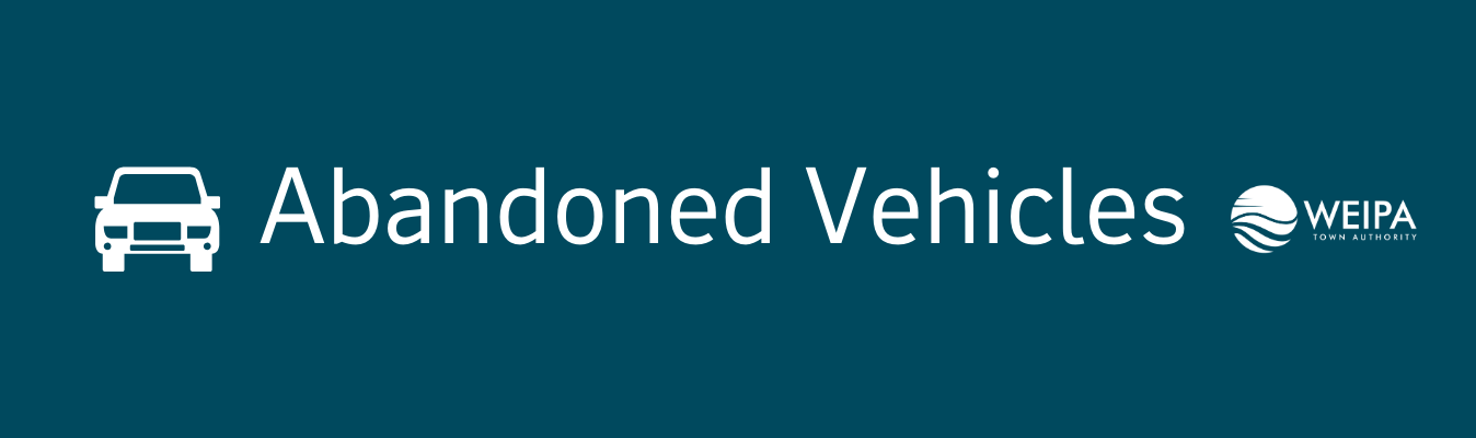Abandoned Vehicles Banner