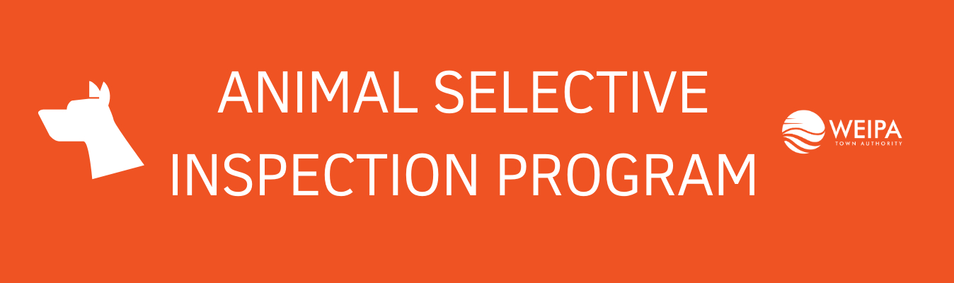 Animal selective inspection program 1