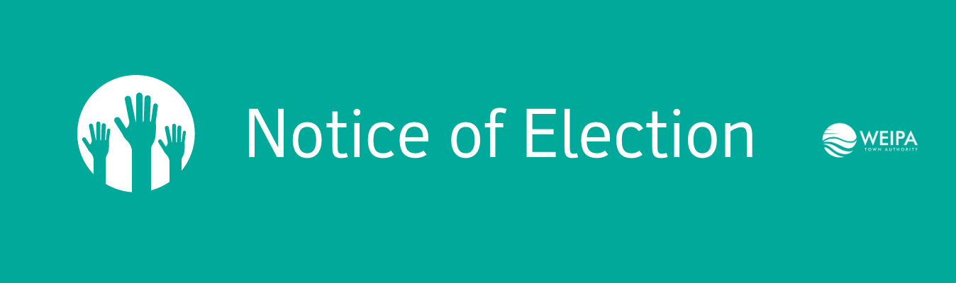 Notice of Election Banner